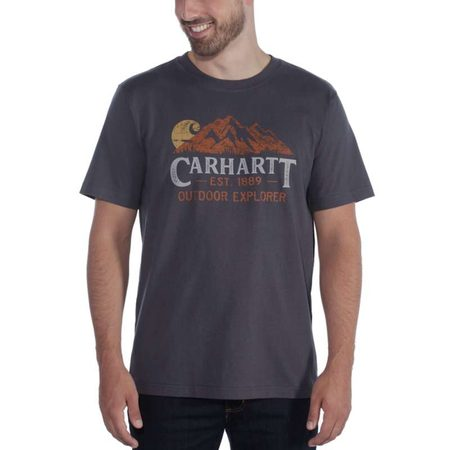 Carhartt triko -104183 BLS Workwear Explorer Graphic T-shirt