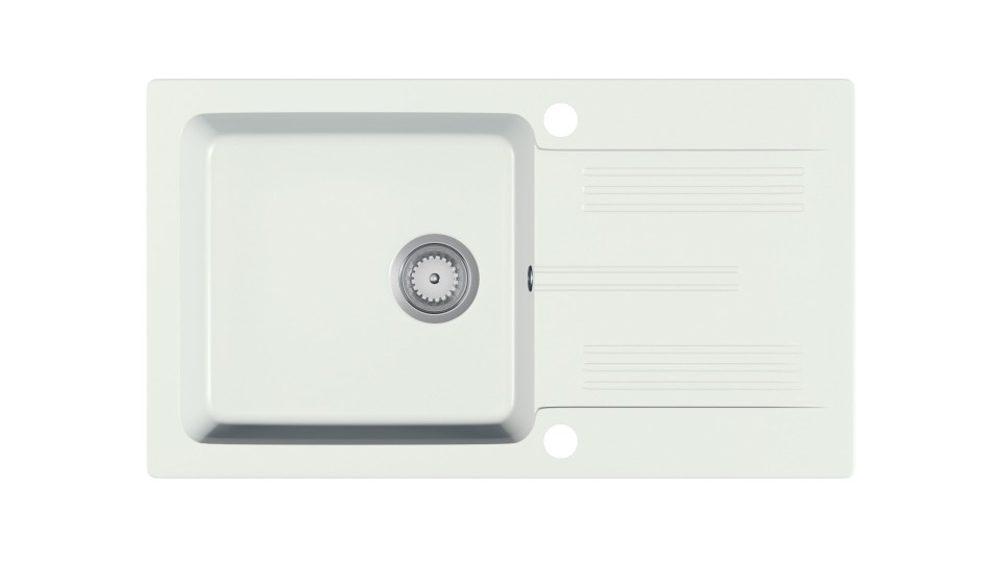 Halmar LANEO sink, color: white