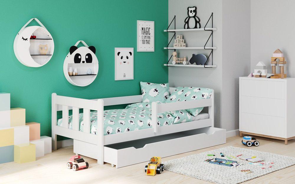 Halmar MARINELLA white bed