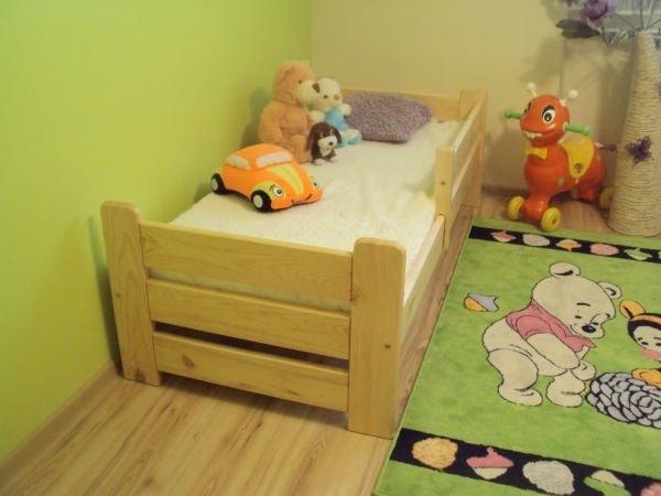 Maxi-drew Dětská postel KUBUS 70 x 160 cm bílý