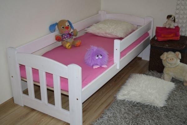 Maxi-drew Dětská postel JAS 70 x 160 cm bílý