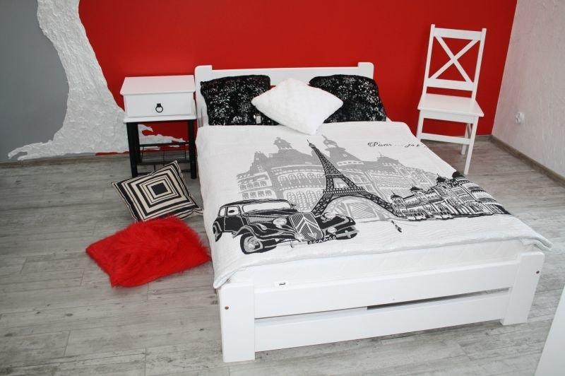 Maxi-drew Postel EUREKA   bezbarvý bezbarvé 160 x 200 cm