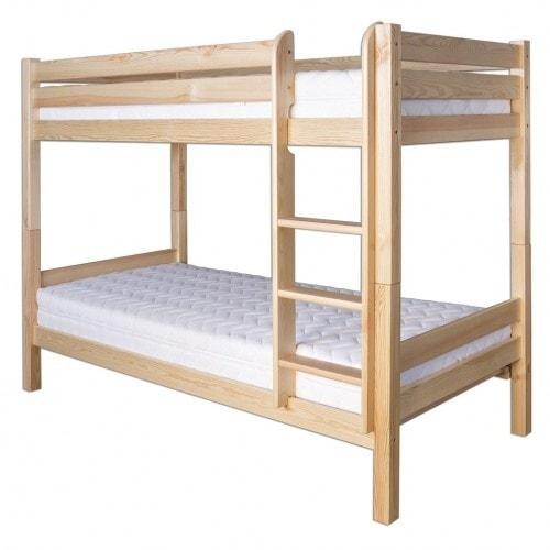 Drewmax Patrová postel LK136 80 x 200 cm olše