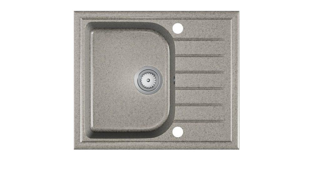 Halmar ALAROS sink, color: spackled grey