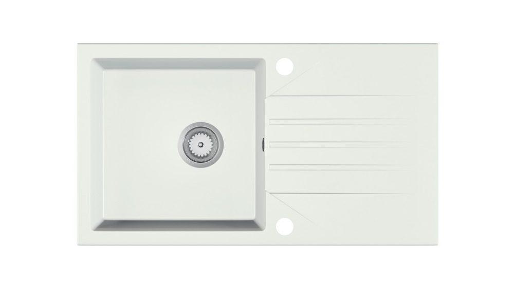 Halmar EVINION sink, color: white