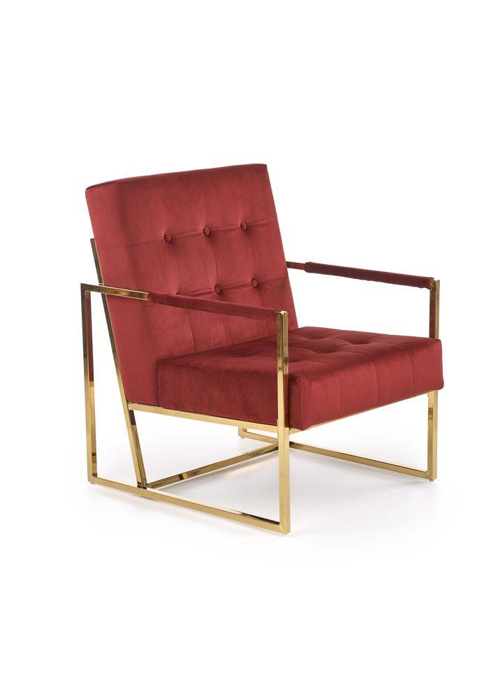 Halmar PRIUS l. chair, color: dark red