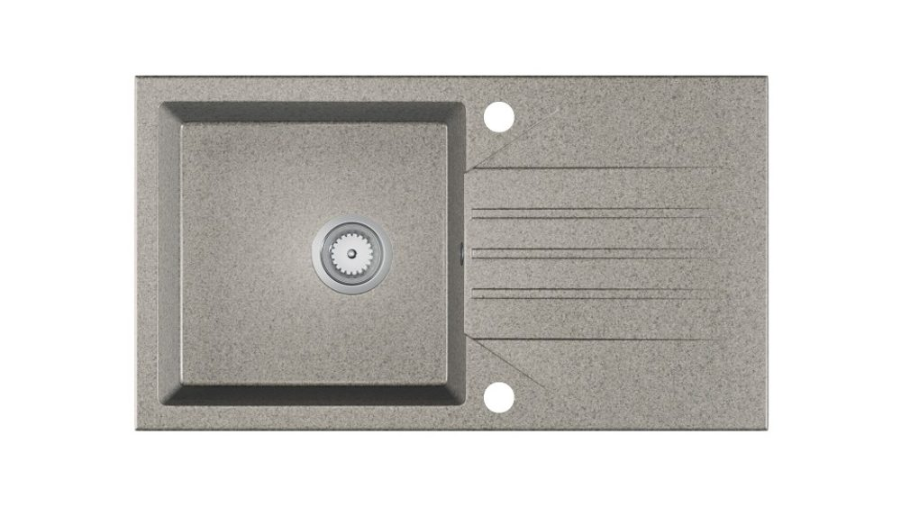 Halmar EVINION sink, color: spackled grey