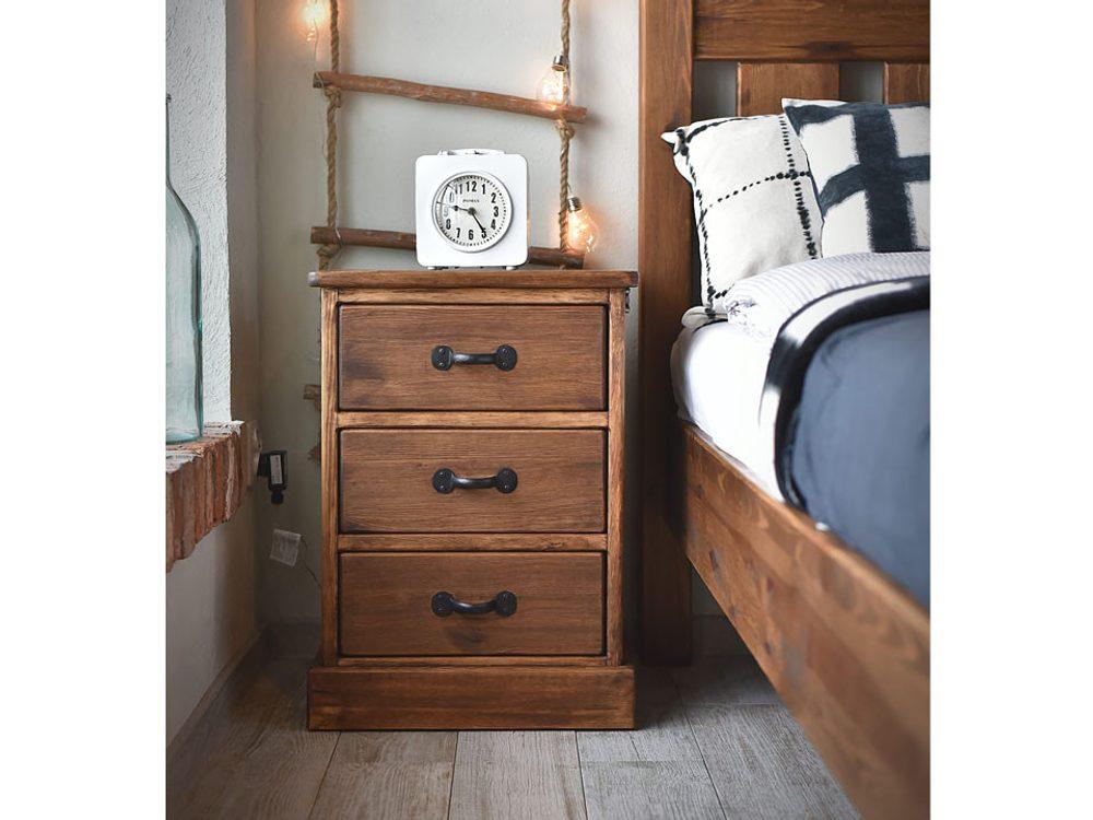 Seart Noční stolek Rustyk 3
