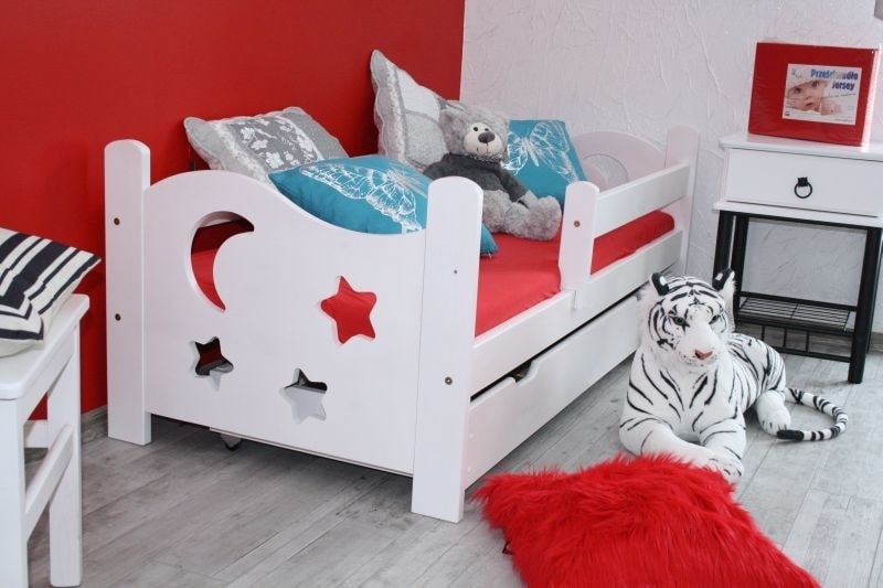Maxi-drew Dětská postel SEWERYN 70 x 160 cm bílý