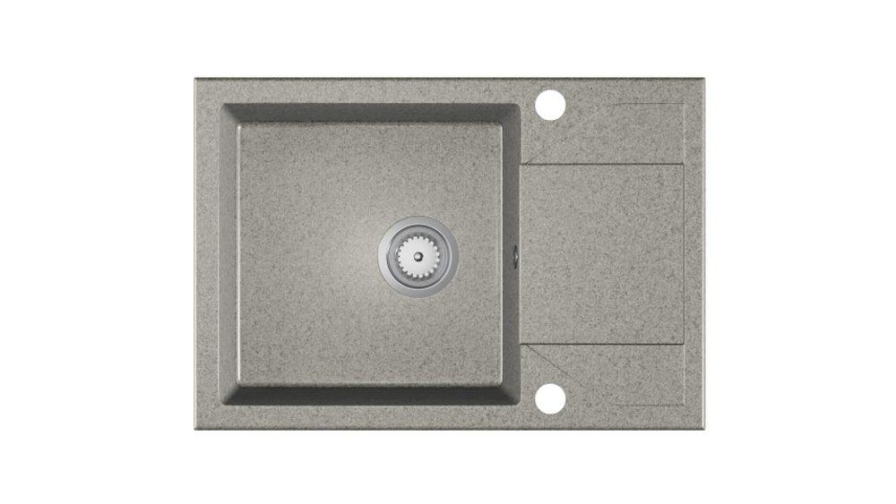 Halmar ADRIA sink, color: spackled grey