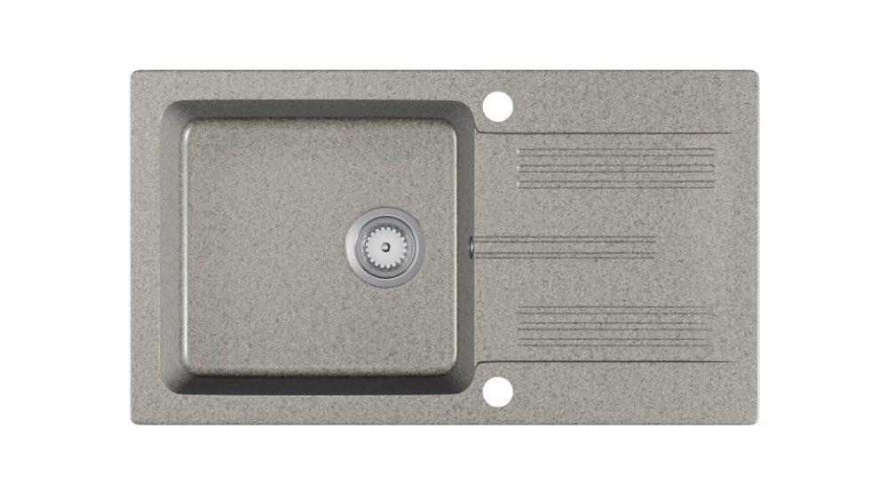 Halmar LANEO sink, color: spackled grey