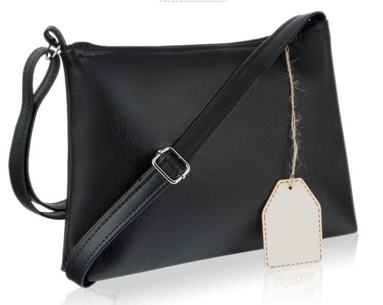 3bb0546887 VIPhair.cz - Klasická kabelka přes rameno MURANO - černá - Kabelky ...