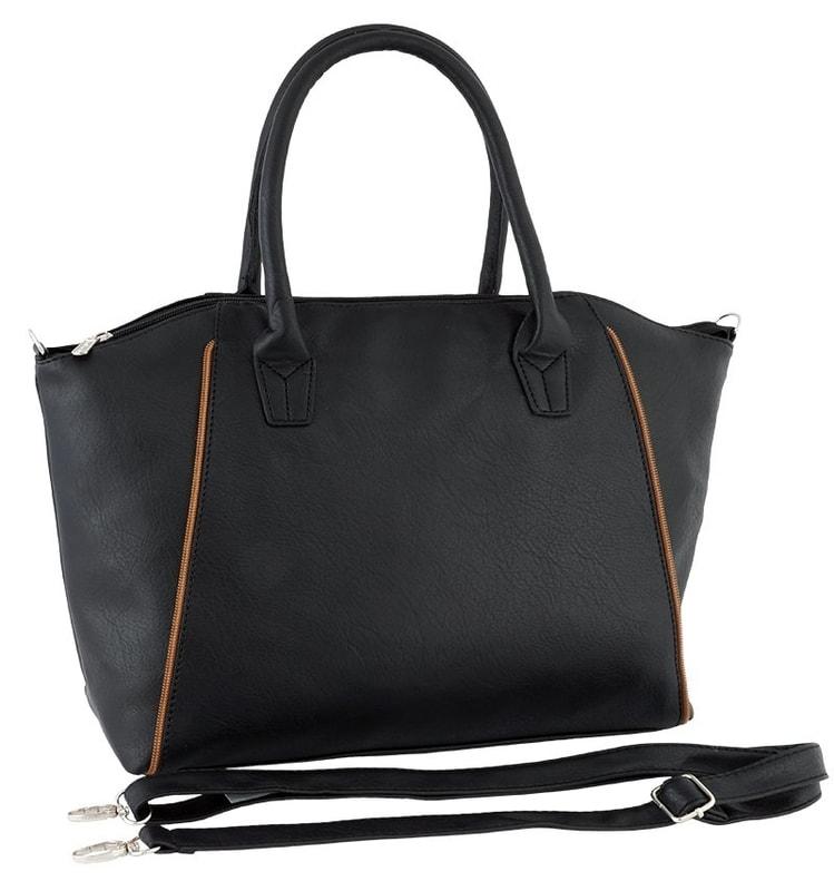 cd6fd35135 VIPhair.cz - Dámská luxusní kabelka - černá - Kabelky - MÓDNÍ DOPLŇKY