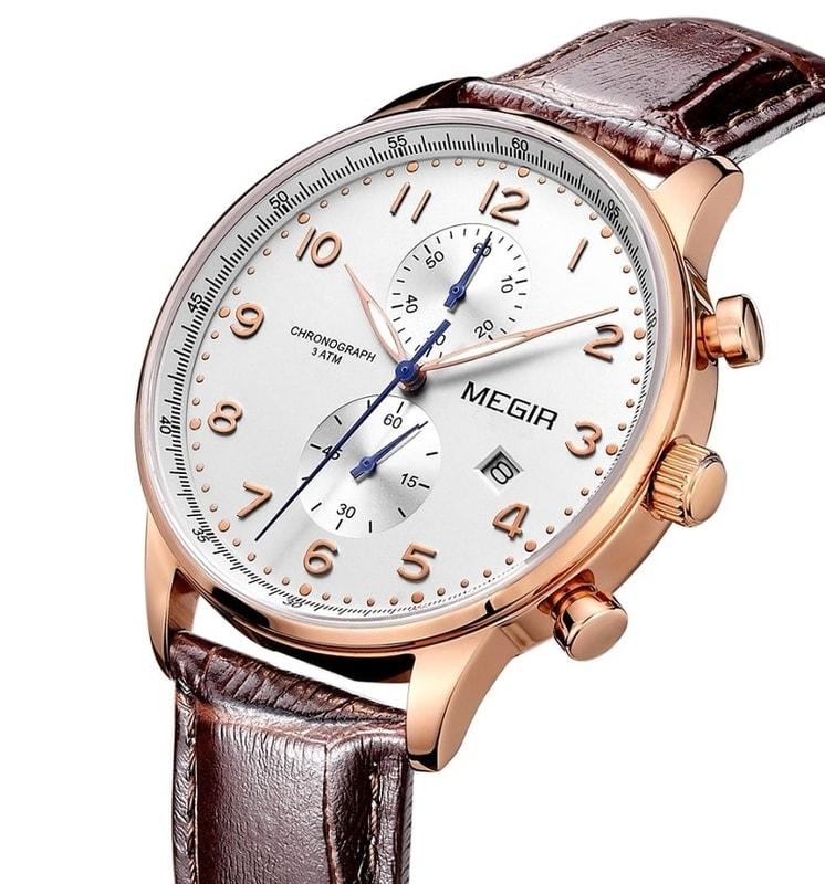 d37293f46 VIPhair.cz - Pánské elegantní hodinky pro každého MEGIR TOKIO - gold ...