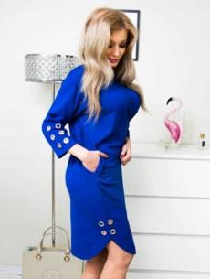9771f3ad9 Krásné dámské šaty - blue - Móda XXL - 5XL - DÁMSKÁ ... - VIPhair.cz