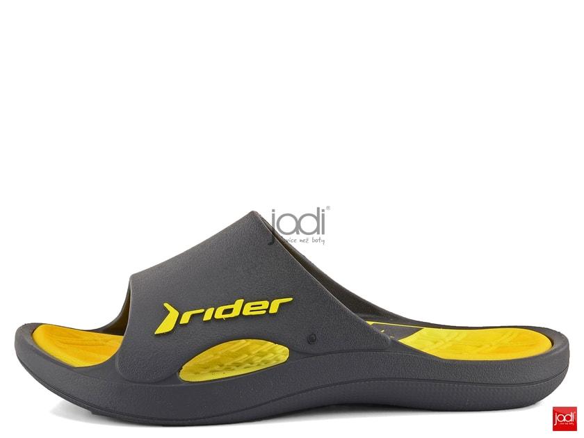 c7879bab6 Rider pánske šľapky Bay VI Grey/Yellow 81901 - Rider - Pantofle a žabky -  JADI.sk - ...viac než topánky