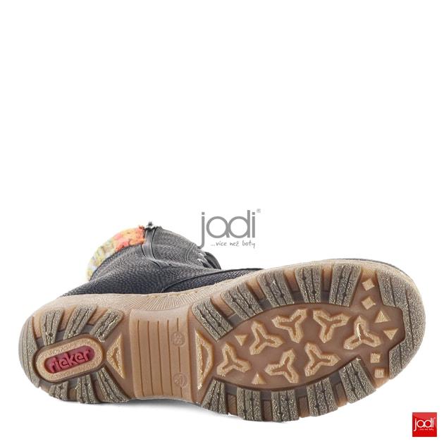 fe1d23fcda Rieker vyššie členkové topánky s nápletom čierne Z0123-00 - Rieker -  Podzim zima - JADI.sk - ...viac než topánky