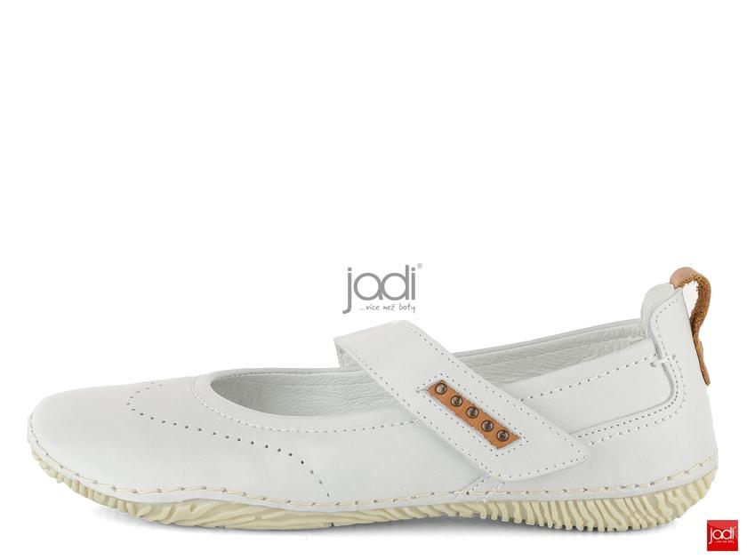 0530d4029 Jana kožené baleríny šírka H Offwhite 8-24618-22 - Jana - Balerínky - JADI. sk - ...viac než topánky