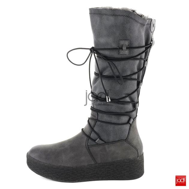 dceb9f14b2cf Tamaris zateplené čižmy na platforme Antrhracite 1-26615-21 - Tamaris -  Čižmy - JADI.sk - ...viac než topánky