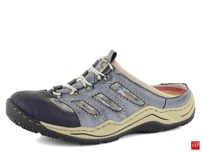 56654ac9b5a8 Rieker šľapky s plnou špičkou modré multi L0555-16 - Rieker - Šľapky -  JADI.sk - ...viac než topánky