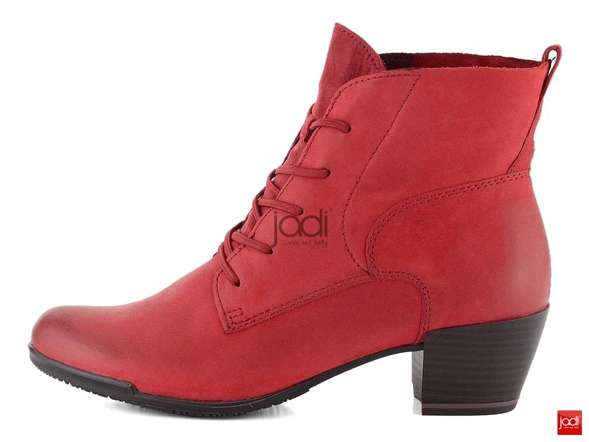 b60ebcb98645 Tamaris elegantní kotník červený Sangria 1-25108--21 - Tamaris -  Podzim zima - JADI.cz - ...více než boty