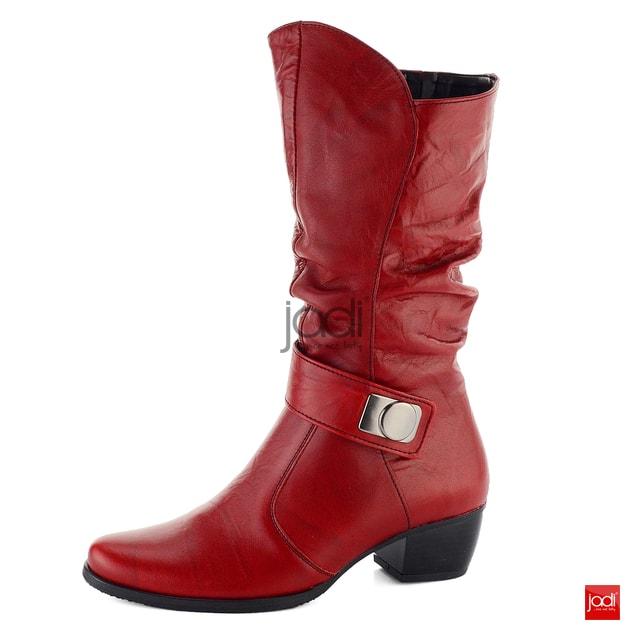644483516a Barton riasené zateplené čižmy červené 52710A - Barton - Čižmy - JADI.sk -  ...viac než topánky