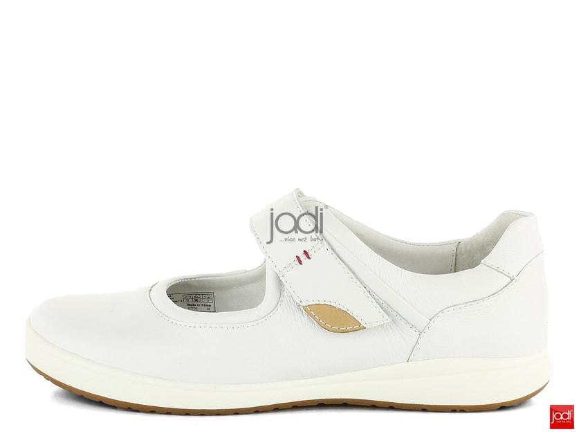 f34bb9568b Josef Seibel baleríny biele Caren 67705133 - Josef Seibel - Balerínky -  JADI.sk - ...viac než topánky