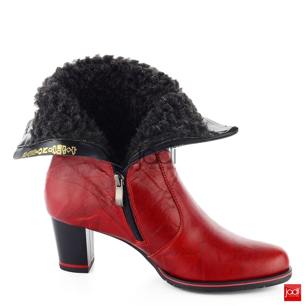 ce37c22856 Barton nižšie čižmy kombinované červené 25217 - Barton - Podzim zima -  JADI.sk - ...viac než topánky
