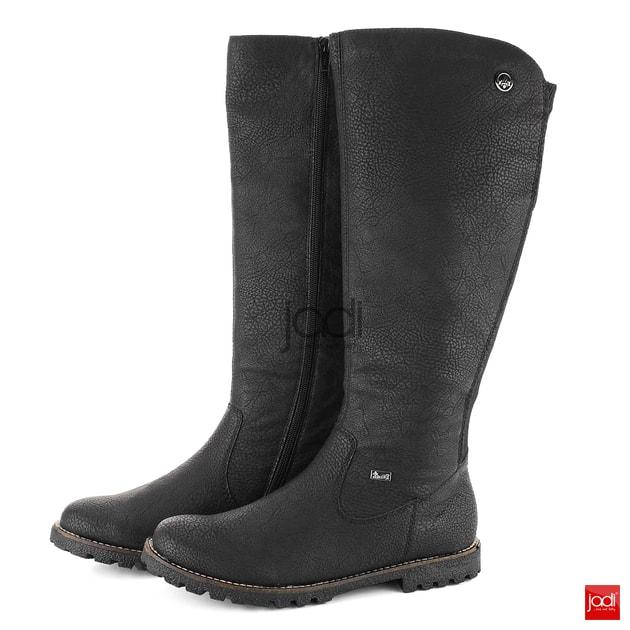 df74aebaca Rieker čižmy s variabilnou šírkou a membránou čierne Y4290-00 - Rieker -  Čižmy - JADI.sk - ...viac než topánky