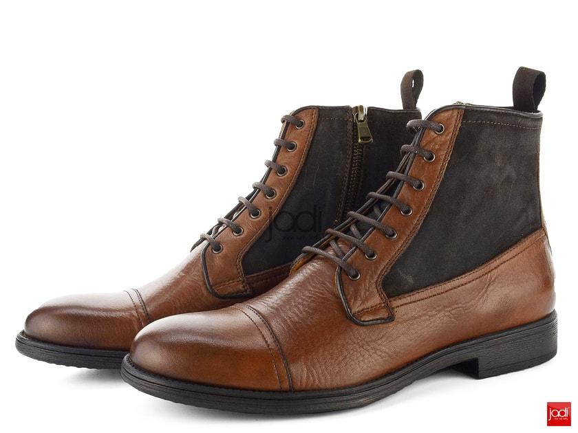ccea88eca9 Geox pánske členkové topánky Jaylon Ebony U54Y7B0FV22 - Geox - Podzim zima  - JADI.sk - ...viac než topánky