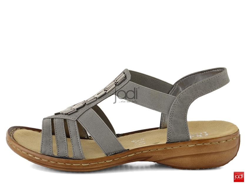 d98894595fd4 Rieker sandály šedé 60800-42 - Rieker - Sandály - JADI.cz - ...více než boty