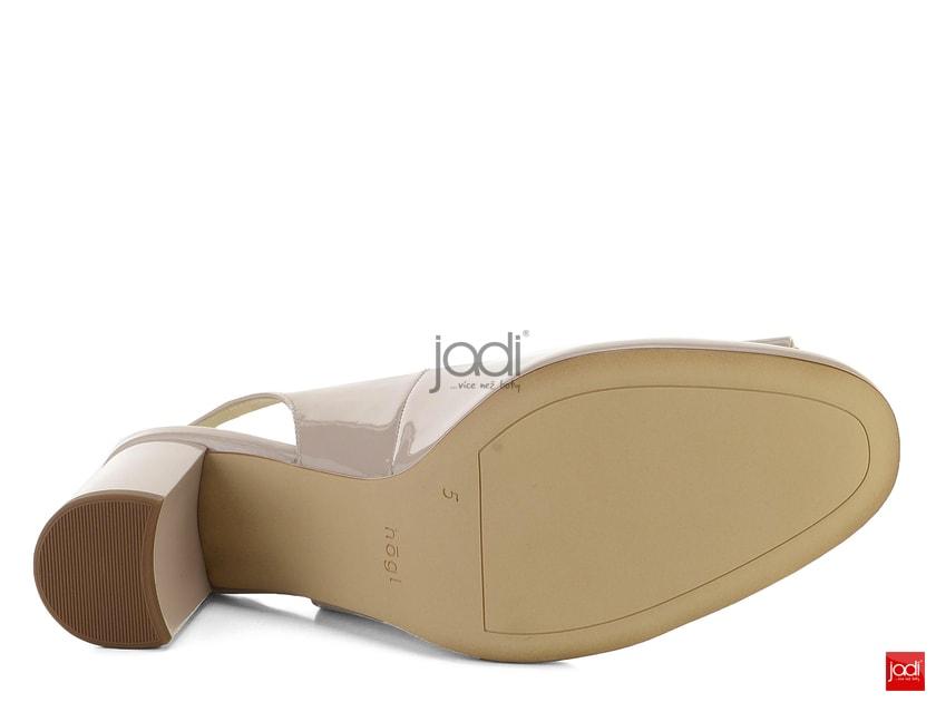 e5ff0f75d9 Högl lodičky s volnou patou lakované Cotton 5-105185 - Högl - Lodičky -  JADI.cz - ...více než boty