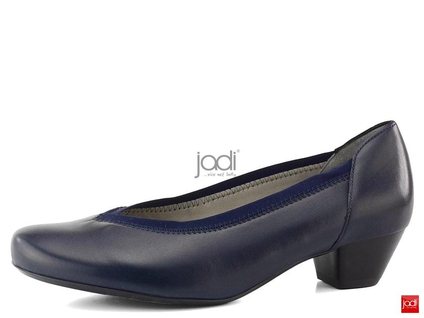 2922ef309771 Ara lodičky tmavo modré extra široké 12-42041 - Ara - Lodičky - JADI.sk -  ...viac než topánky