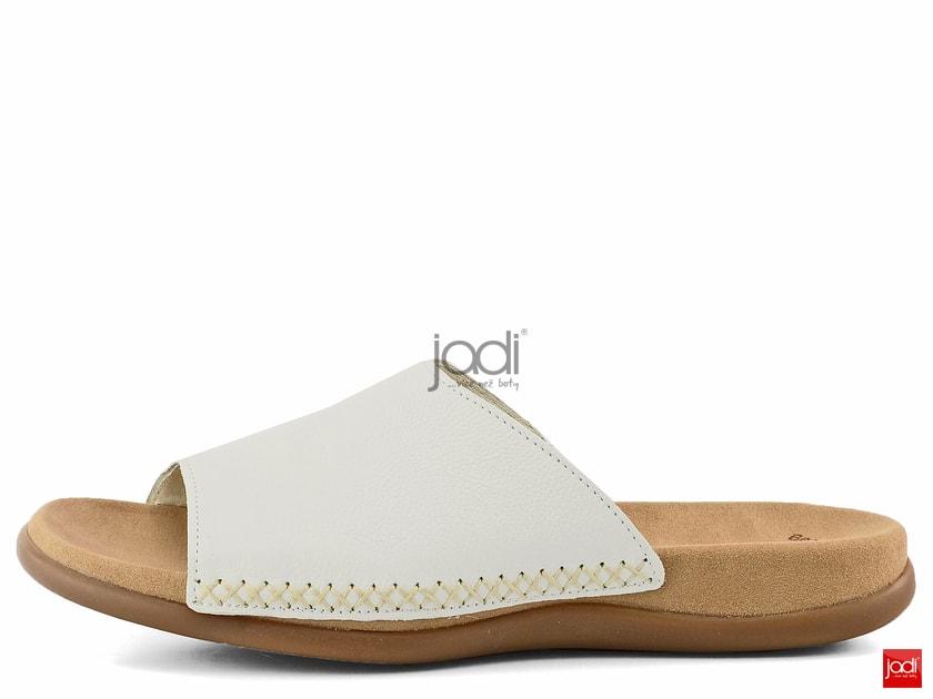 31f259ad655c Gabor šľapky biele - Gabor - Šľapky - JADI.sk - ...viac než topánky