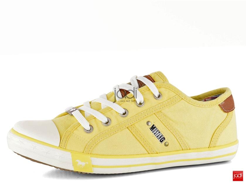2798eb6a1 Mustang dámske tenisky žlté 1099-302 - Mustang - Tenisky a kecky - JADI.sk  - ...viac než topánky