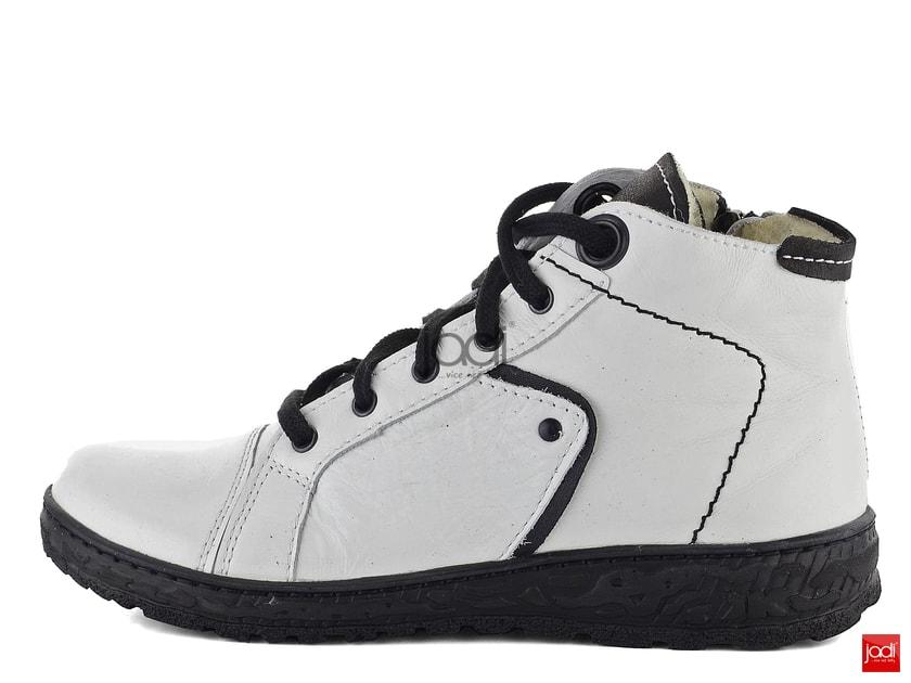 f3fb87bbb6 Kacper kombinované členkové topánky biele 4-6336 - Kacper - Podzim zima -  JADI.sk - ...viac než topánky