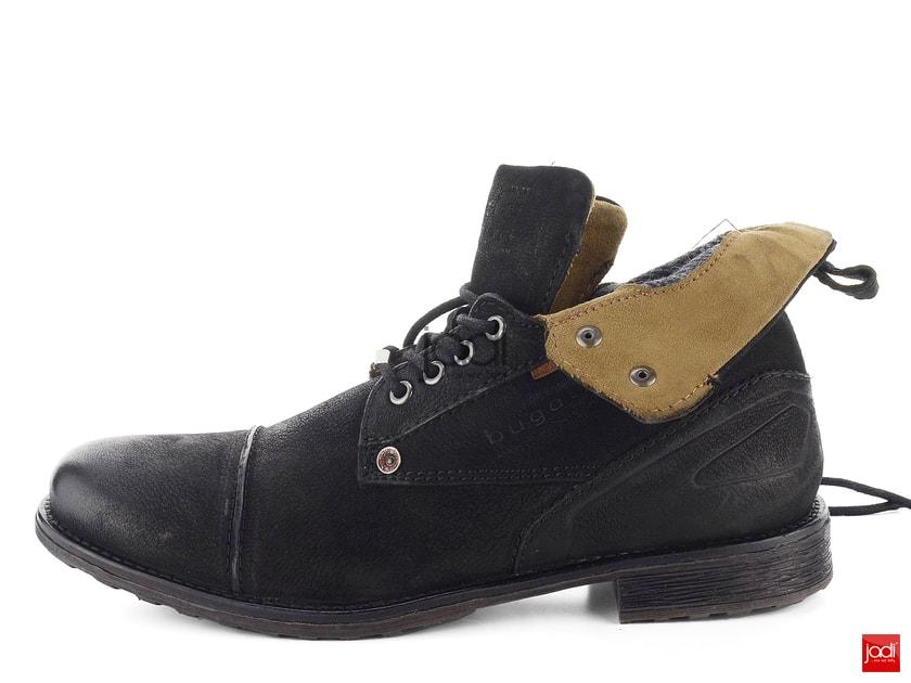 7abb9f370f74 Bugatti členkové topánky šnurovacie čierne 311-38632-3500 - Bugatti -  Podzim zima - JADI.sk - ...viac než topánky
