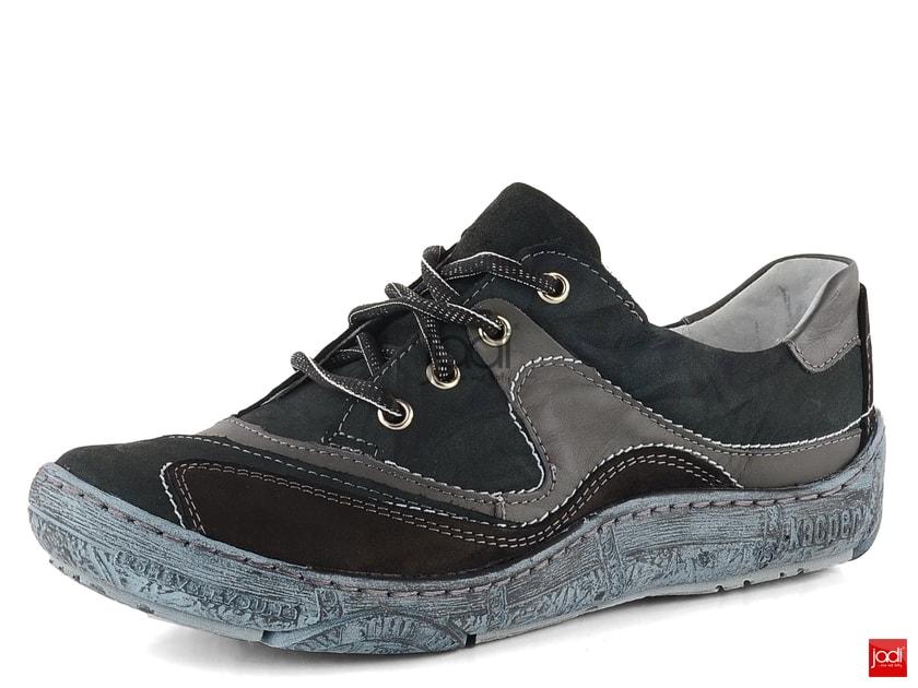 809c882658 Kacper dámske poltopánky čierne šedé 2-4958 - Kacper - Poltopánky - JADI.sk  - ...viac než topánky