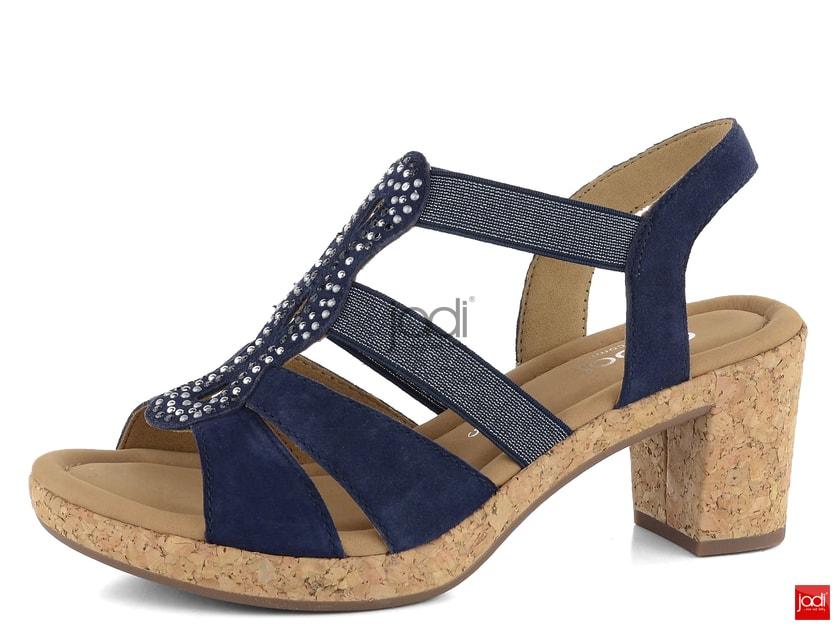 c44b262f4f5a8 Gabor sandále na platforme modré 22.774.36 - Gabor - Sandále - JADI.sk -  ...viac než topánky
