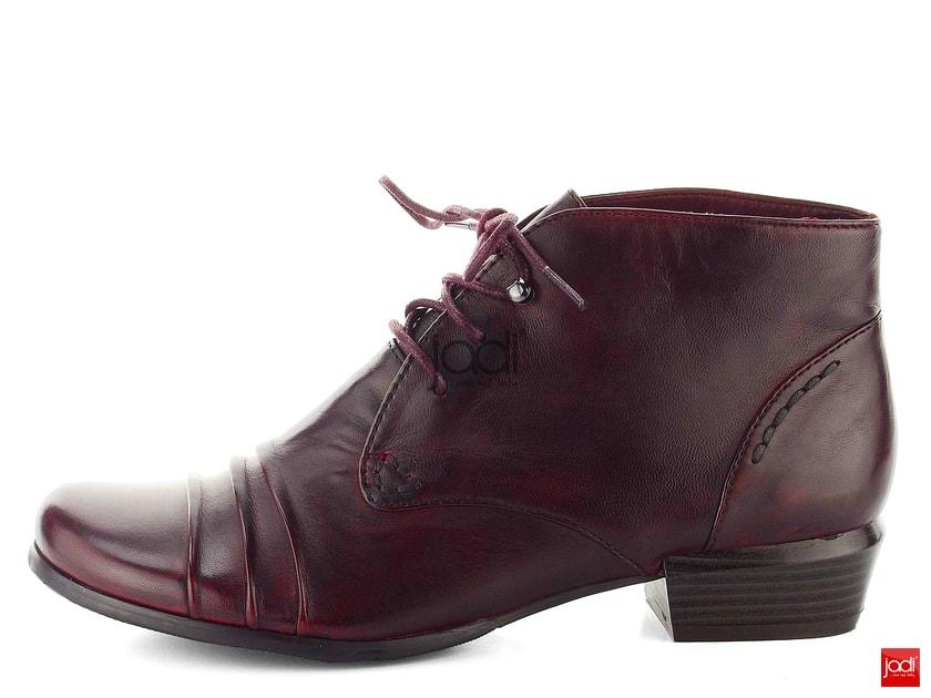 85be77e7b6 Regarde Le Ciel členkové topánky riasené Sangria Melany-01 - Regarde Le  Ciel - Podzim zima - JADI.sk - ...viac než topánky