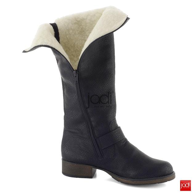 dd3f0024b8bd Rieker variabliné čižmy s vlnou čierne Z9592-00 - Rieker - Čižmy - JADI.sk  - ...viac než topánky