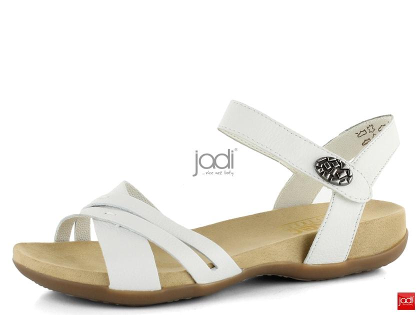 ee07090647bf Rieker dámske sandále biele 60553-80 - Rieker - Sandále - JADI.sk - ...viac  než topánky