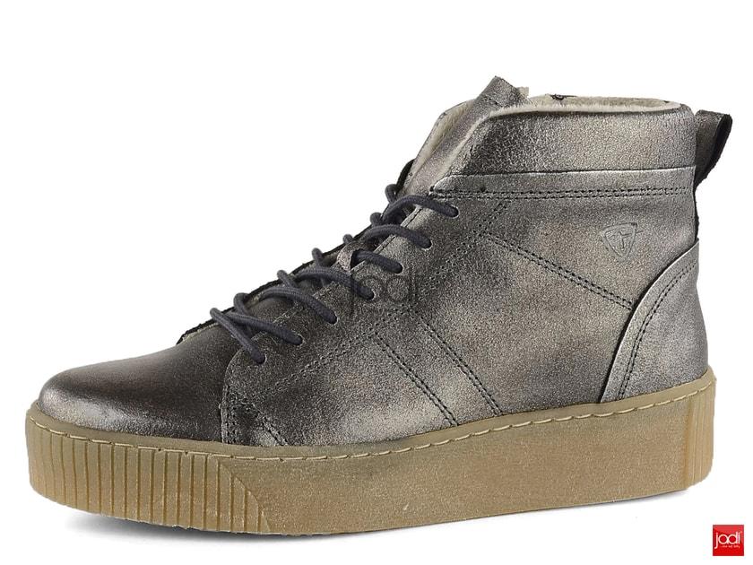 2621662a068f Tamaris členkové topánky na platforme metalické 1-25758-29 - Tamaris -  Podzim zima - JADI.sk - ...viac než topánky