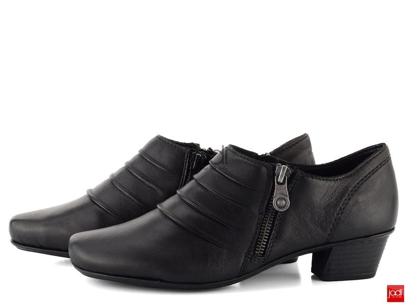 25c1c223e Rieker elegantné zateplené poltopánky so zipsami 53871-01 - Rieker -  Poltopánky - JADI.sk - ...viac než topánky