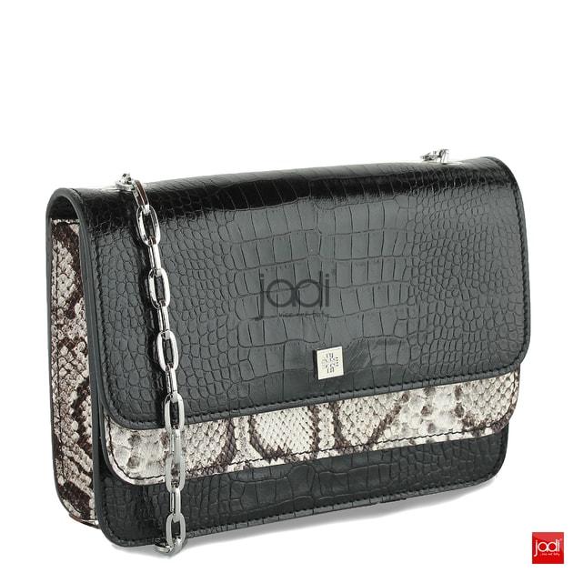 fc5f9e49a0 Högl luxusní kabelka černá s reptilií 7-142710 - Högl - Kožené kabelky -  JADI.cz - ...více než boty