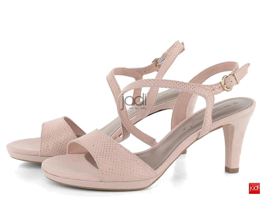 2e7c25c558aab Tamaris páskové sandálky rose dots 1-28318-22 - Tamaris - Sandály - JADI.cz  - ...více než boty
