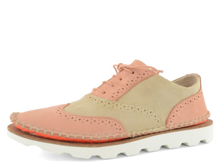Clarks polobotky Damara Rose Peach