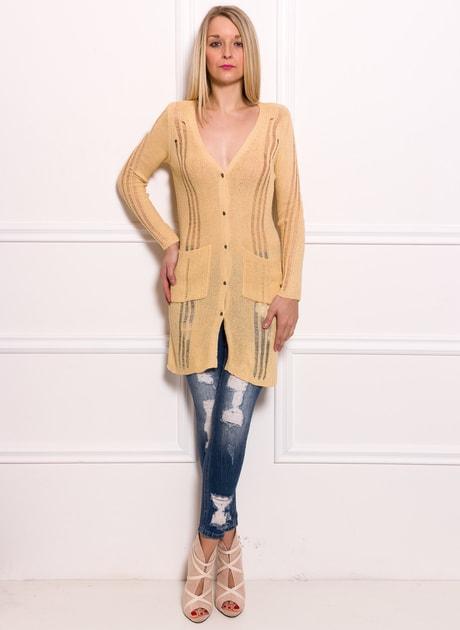 86119b76c0 Glamadise.hu Fashion paradise - Női szvetter - Bézs - Pulóverek - Női  ruházat - Divat olasz design