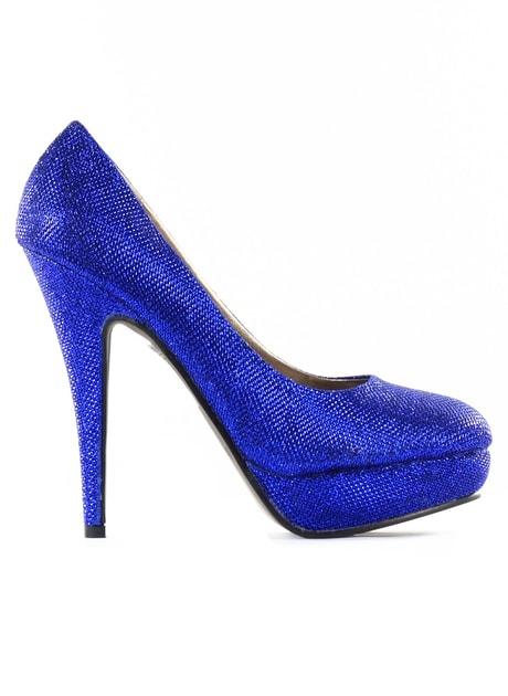 71849f399022d Glamadise.sk - Dámske lodičky na platforme party modrej - GLAM&GLAMADISE  shoes - Dámske topánky - - GLAM, protože chci být odlišná!