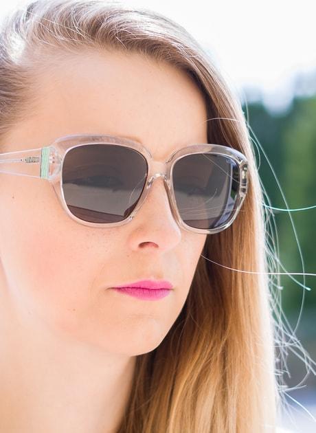 Glamadise.pl Damskie okulary przeciwsłoneczne Calvin Klein